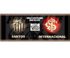 Amanhã tem decisão: Santos x Internacional, e para o Santos é vencer ou vencer... E você pode deixar o seu placar deste jogo, acessando aqui http://santosfutebolarte.omb10.com/SantosFutebolArte/placar-de-santos-x-internacional PARTICIPE!