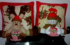 Resultado de imagen para cojines navideños Christmas Decorations, Christmas Ornaments, Holiday Decor, Christmas Projects, Christmas Baking, Christmas Stockings, Xmas, Pillows, Halloween