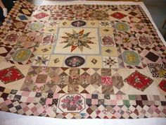 Little Welsh Quilts and other Traditions: An early 19th Century Coverlet
