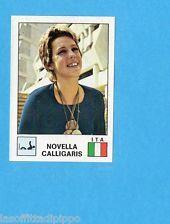 SPORT VEDETTES-PANINI 1974-Figurina n.186- CALLIGARIS - ITALIA - NUOTO -Rec