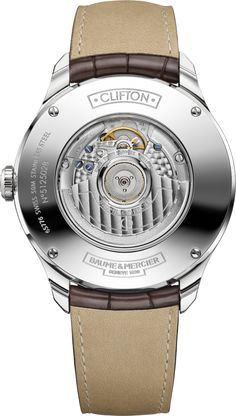 Baume & Mercier Clifton Big Date and Power Reserve caseback