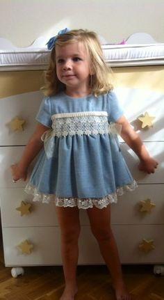 parasofia moda infantil, vestido niña