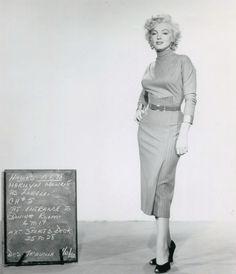 Marilyn Monroe Wardrobe Test Gentlemen Prefer Blondes, 1952.