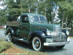 Pictures of several old trucks taken at car shows and Fourth of July parades. Mostly Ford, but also some Chevy and Dodge trucks. 1946 Chevy Truck, Chevy Pickup Trucks, Classic Chevy Trucks, Dodge Trucks, Chevrolet Trucks, Hot Rod Trucks, Cool Trucks, Cool Cars, Farm Trucks