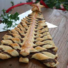 Nutella® Pastry Christmas Tree @ http://allrecipes.com.au