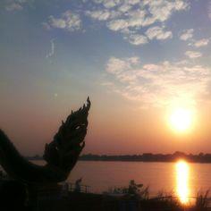 Nong-khai. Khong river