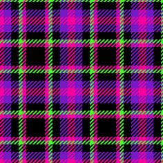 fabric, upholstery, patterns, quilting fabric, wallpaper, wrapping paper - Punky Plaid 207 Violet Pink Green fabric by wickedrefined on Spoonflower