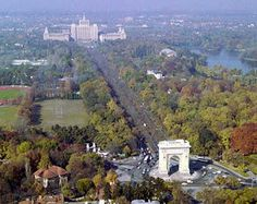 Bucharest city view , in Romania Capital Of Romania, Macedonia, Albania, Countries Of The World, Slovenia, Aerial View, Paris Skyline, Traveling By Yourself, Dolores Park