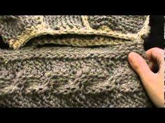 scalda collo con cappuccio seconda parte - YouTube
