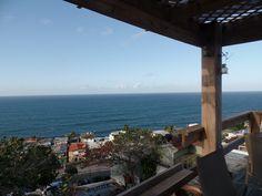 Ocean View from the Wine Deck The Gallery Inn, Old San Juan, Puerto Rico