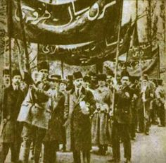 Ottoman workers protest. ~1900