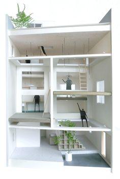 hiroyuki shinozaki architects: house T, tokyo