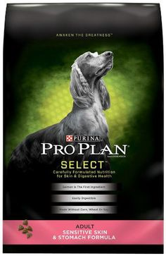 Purina Pro Plan Dry Adult Dog Food, Sensitive Skin and Stomach Formula, 33-Pound Bag | PetCorridor.myonlinebiz4u2.com/