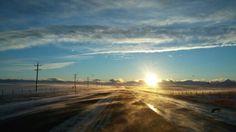 #Sunset  Cut Bank, Montana