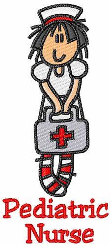 Pediatric nurse monogram patch... I can not wait to finish nursing school