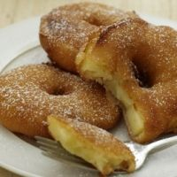 Serve dessert for breakfast when you make this delicious recipe for Portuguese Apple Fritters! This easy breakfast recipe will delight the crowd. Apple Fritter Recipes, Apple Recipes Easy, Apple Dessert Recipes, Donut Recipes, Just Desserts, Fall Recipes, Delicious Desserts, Cooking Recipes, Cooking Tips