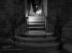 Stairway toward the light by EricYainSetten