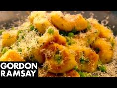 Homemade Gnocchi with Peas and Parmesan - Gordon Ramsay - YouTube