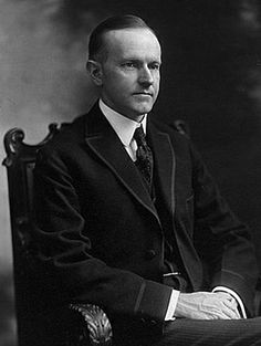 """""""The trouble with us is we talk about Jefferson, but we do not follow him. In this theory that the people should manage their government, and not be managed by it, he was everlastingly right."""" -- Calvin Coolidge [two of two]"""