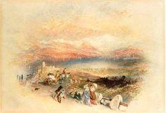 J. M. W. Turner - Lake Leman