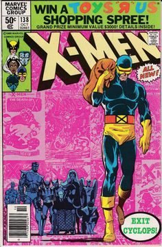 Marvel Comics X-Men VF+ Cyclops Leaves / Jean Grey Funeral Key Issue - Chris Claremont Marvel Comics, Hq Marvel, Marvel Comic Books, Comic Books Art, Book Art, Marvel Cyclops, Marvel Characters, Marvel Girls, Deathstroke