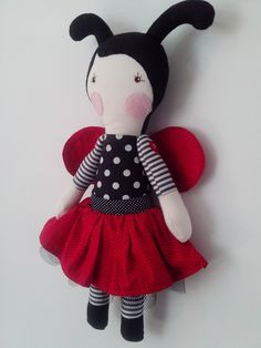 Boneca Serelepe Joaninha
