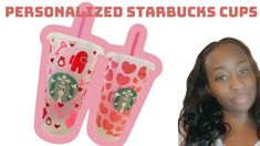 Cricut Tutorial | Personalized Starbucks Cups | Valentine Edition/ Cricut tutorial - YouTube Personalized Starbucks Cup, Cricut Craft, Cricut Tutorials, Pot Holders, Valentino, Youtube, Diy, Crafts, Manualidades