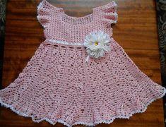 Vestido De Crochet Recién Nacido - Compra lotes baratos de Vestido ...