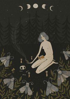 Ilustração da artista Alexandra Dvornikova