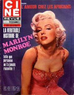 Cine Revue - August 23rd 1966, magazine from Belgium. Front cover photo of Marilyn Monroe by John Florea, 1953