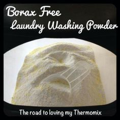 The road to loving my Thermomix: Homemade Washing Powder - maja Homemade Cleaning Products, Cleaning Recipes, Natural Cleaning Products, Cleaning Hacks, Household Products, Natural Products, Beauty Products, Household Cleaners, Body Products