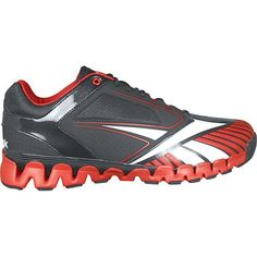 Reebok ZigCooperstown Trainer 20 Mens Turf Shoe 7 BlackRed -- More info could be found at the image url.