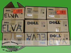 Lot of 9 Dell 3110cn/3115cn Toners Black/Cyan/Yellow/Magenta NEW in BOX