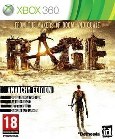 """Rage with Pre-Order Bonus for Xbox 360 - Bethesda Softworks - Toys """"R"""" Us Rage Ps3, Xbox 360 Games, Playstation Games, Pc Gamer, Girl Gamer, Rage Video Game, Rage Game, Id Software, Hu Ge"""