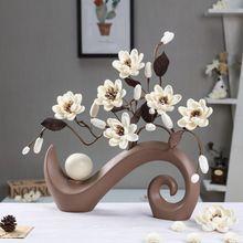 Vaso de Cerâmica chinesa Capina Decoração Para Casa Acessórios de Decoração(China (Mainland))