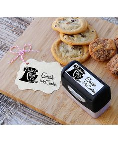 Look what I found on #zulily! 'Baked With Love' Personalized Stamp #zulilyfinds