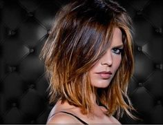 Bob Frisuren Mit Pony Pin on Pelo colores [post_tags Hair Styles 2016, Medium Hair Styles, Short Hair Styles, Layered Bob Hairstyles, Layered Hair, Bob Haircuts, Pixie Hairstyles, Mid Length Hair With Layers, Trending Haircuts