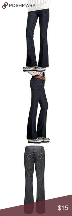 Women's bootcut straight leg jeans, size 6 NWT Sasson straight leg hustle jeans, contour waist with narrow slim leg, size 6 NWT.  Waist is 29.2, lenth is 42.1, and hips are 37.8.   All my stuff comes from a smoke free and pet free home.  I encourage you to bundle to save on shipping, so check out my closet for other deals!  312 Sasson Pants Boot Cut & Flare