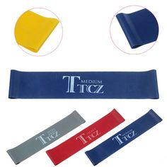 Yoga Pilates Resistance Band Exercise Loop Rubber Resistance Bands Fitness Loop rope Stretch Band Crossfit band for bodybuilding.Remdaci Store for the best fit ever. Pilates Training, Training Fitness, Yoga Pilates, Soccer Training, Pilates Workout, Weight Training, Strength Training, Resistance Band Loop Exercises, Best Resistance Bands