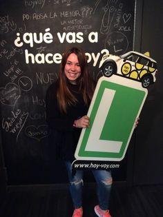 MARINA LLAVERIAS!!! #hoyvoy #autoescuela #granollers