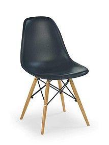 NOWOŚĆ !!! Czarne krzesło na nogach K-153