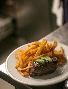 Steak frites at this now-iconic Paris bistro.