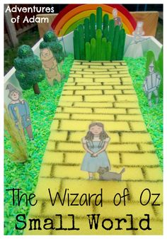 The Wizard of Oz Small World   http://adventuresofadam.co.uk/the-wizard-of-oz-small-world/