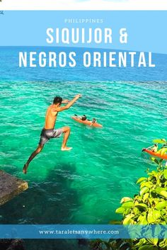 Travel guide to Siquijor and Negros Oriental (Philippines) | Siquijor Dumaguete Apo Island | Salagdoong Beach