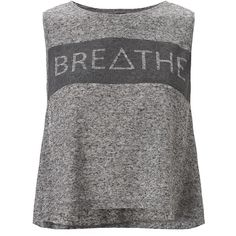 Sweaty Betty Breathe Yoga Tank (1.555 UYU) ❤ liked on Polyvore featuring tops, shirts, tank tops, tanks, activewear, stonemarl and sweaty betty
