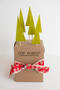 Cute for party favors too! The House That Lars Built.: 5 gift topper ideas