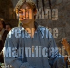 Cool edit Peter Pevensie