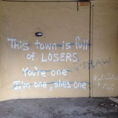 We're all losers...