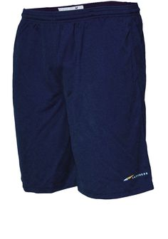 ATHLETIC MESH SHORT 9-inch inseam with pockets, elastic band, and drawstring.