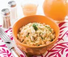Receita Cuscuz com limão, frango e mel por Equipa Bimby - Categoria da receita Pratos principais Carne